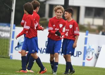España cayó en semifinales de la Danone Nations Cup