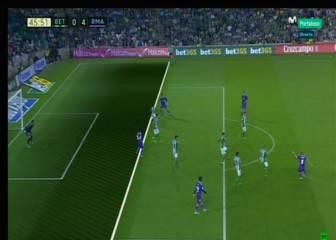 Marcelo estaba en fuera de juego en el tercer gol del Madrid