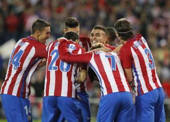 Segunda goleada del Atlético de Madrid por 7-1 al Granada