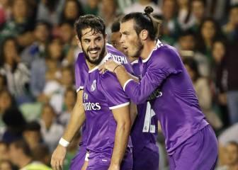 Uno por uno del Madrid: Isco se reivindica y el Madrid se gusta