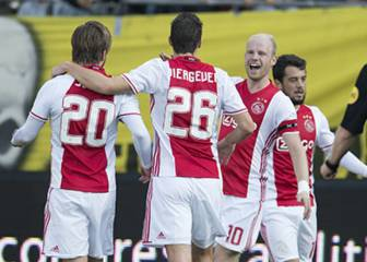 El Ajax firma su séptima victoria seguida antes de visitar al Celta