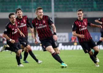 El Milán logra un importante triunfo y se coloca tercero
