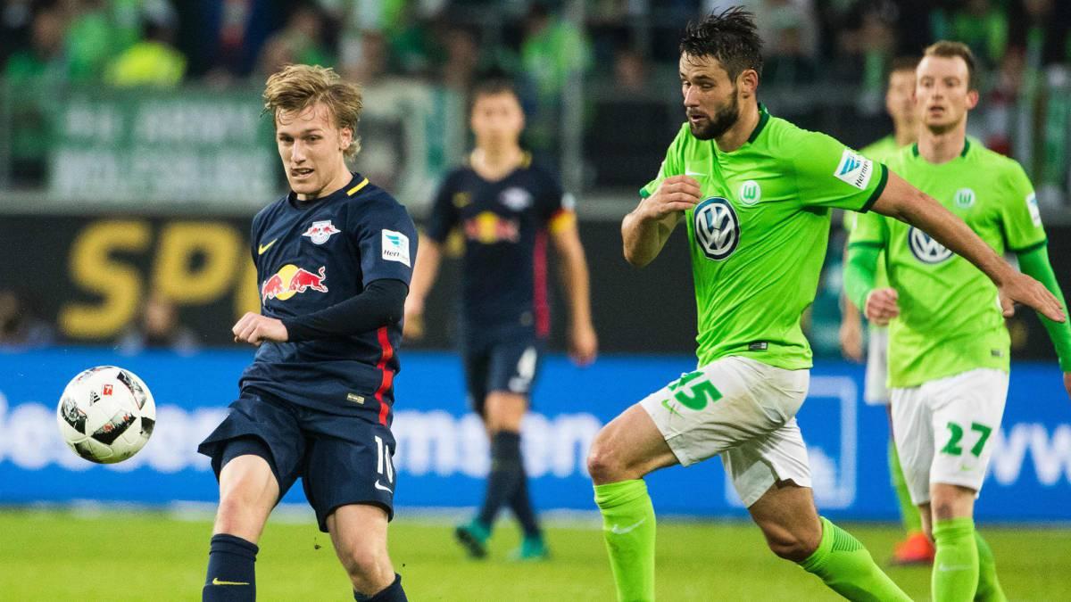 El Leipzig gana en Wolfsburgo y se consolida como revelación en Alemania