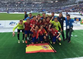 España se lleva el bronce en la Danone Nations Cup
