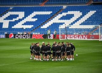 Más peligro en la grada que sobre el césped del Bernabéu