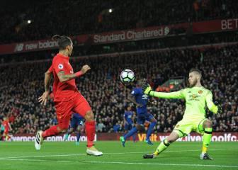 De Gea sostiene al United y atrapa un punto en Anfield