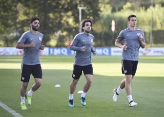 Plaga de lesiones en el lateral del Athletic para Genk y Madrid