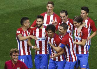 Simeone ha aprendido ya a jugar al ataque con el Atlético
