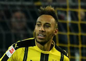 El Borussia aceptaría negociar con el Madrid por Aubameyang