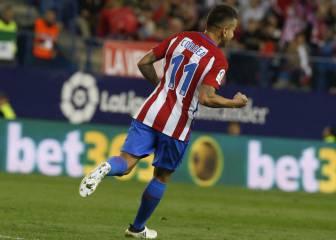 Correa marcó ante el Granada su primer gol en Liga de titular