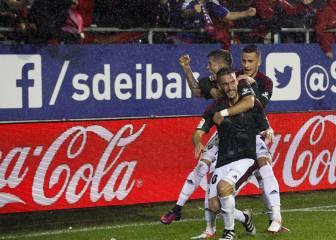 Osasuna remontó y ganó su primer partido esta temporada