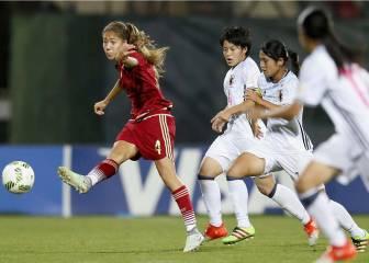 Japón pone fin al sueño de campeonas de las Sub-17