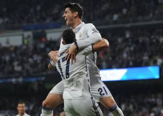 Real Madrid-Legia en imágenes