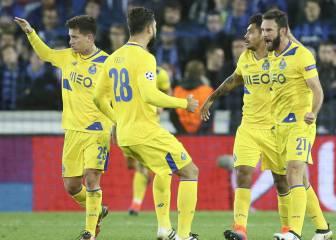 El Oporto remonta y gana con gol de penalti en el descuento