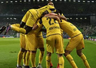 El Dortmund sale líder de Lisboa tras arrollar y dormirse