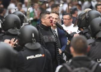 Batalla entre la Policía y los ultras del Legia: 13 detenidos