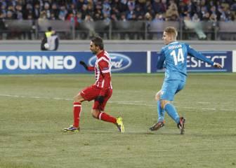 El Atlético, sin derrotas en sus cuatro visitas a suelo ruso