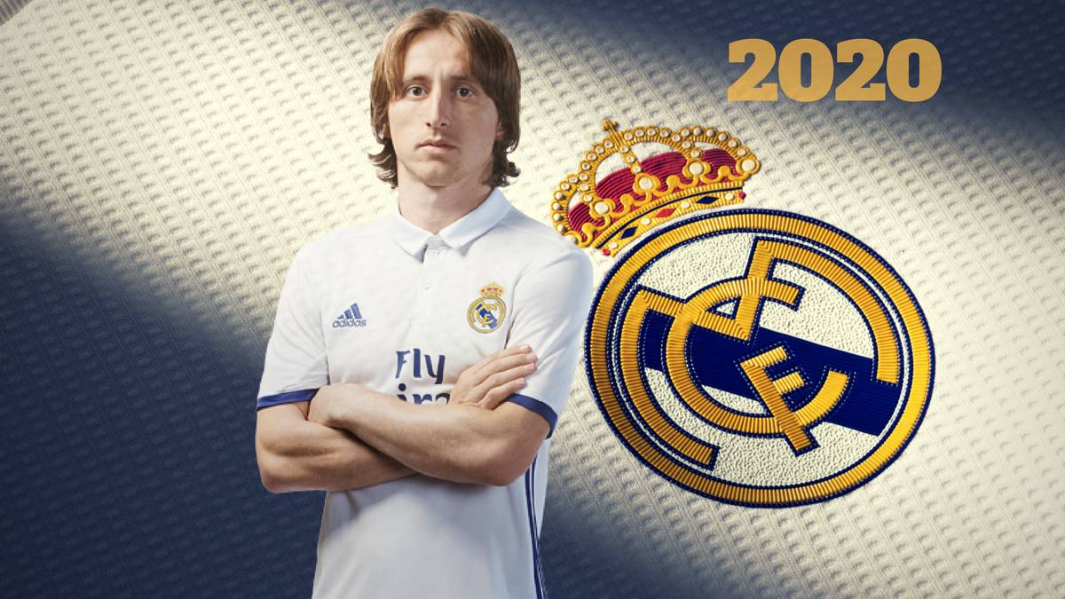 6387d26e30e Real Madrid  Luka Modric extends Real Madrid deal through to 2020 ...