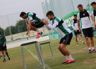 Piccini y Cejudo regresan al trabajo de grupo con Poyet