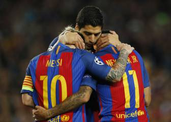 Barcelona-Manchester City en imágenes