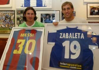 Messi-Zabaleta: una década de amistad en Barcelona