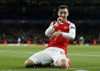 El Arsenal arrasa al Ludogorets y alcanza el liderato del grupo
