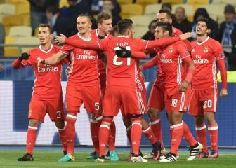 El Benfica gana fácil al Dinamo y piensa en el liderato