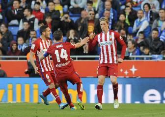 Al ataque: Torres, Griezmann, Correa y Carrasco, titulares