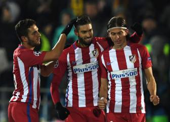 Carrasco cumple: ha igualado su marca goleadora de la 15-16