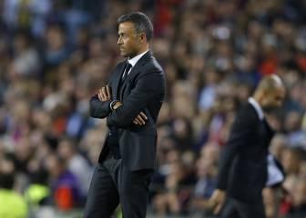 Luis Enrique superó a Guardiola: se llevó la victoria y la posesión