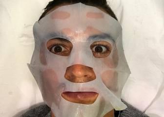 La máscara de Cristiano