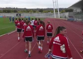 La Selección de Vilda prepara el amistoso ante Inglaterra