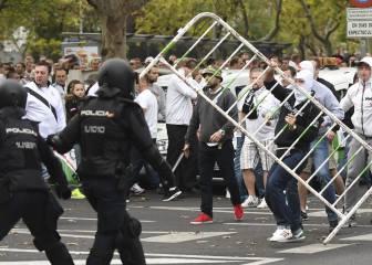 Los ultras polacos acusan a la policía de todos los disturbios - AS.com