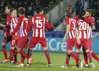 Simeone en Champions: sólo encajó gol en 15 de 39 partidos