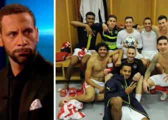 Ferdinand, indignado por cómo celebró el Arsenal el 6-0