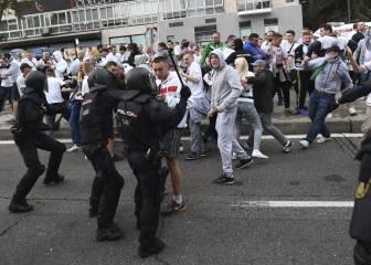 Nueve ultras del Legia detenidos no podrán salir de España