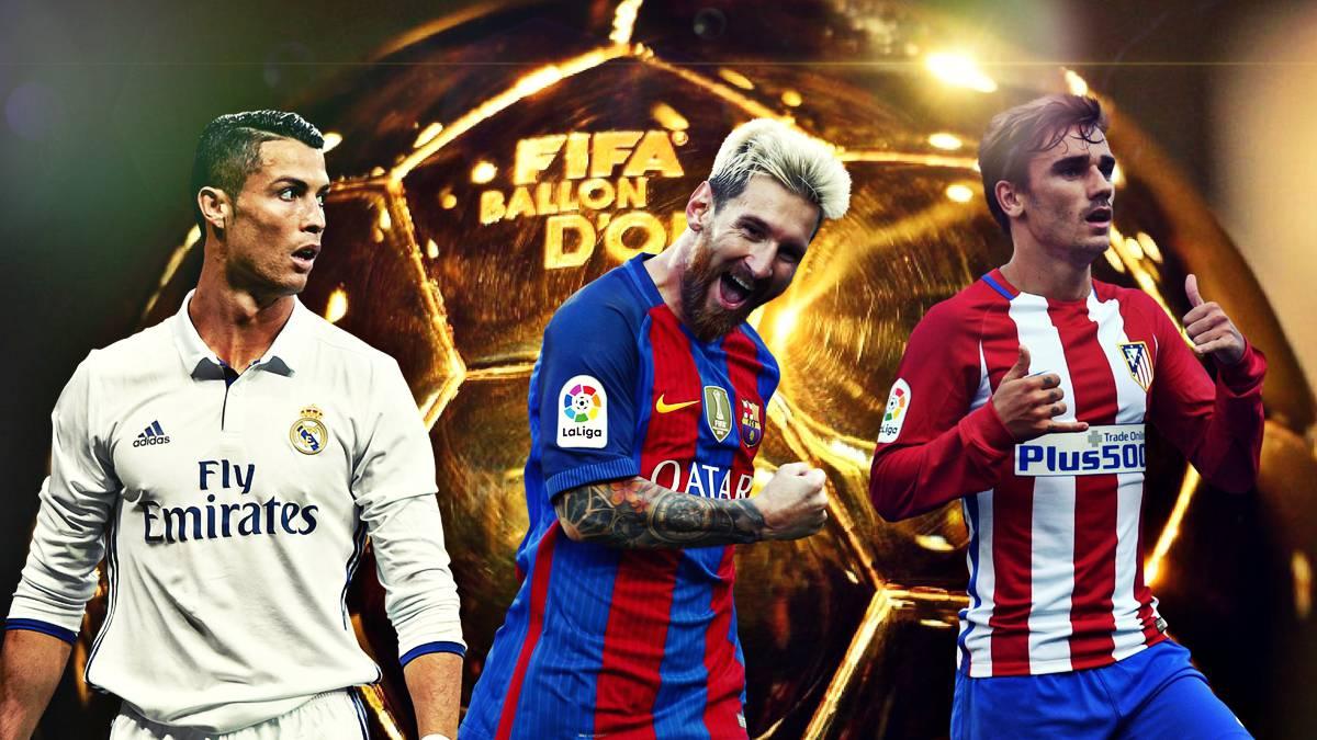 Balón de Oro  las razones de los tres favoritos para ganarlo - AS México 4186700637d5e