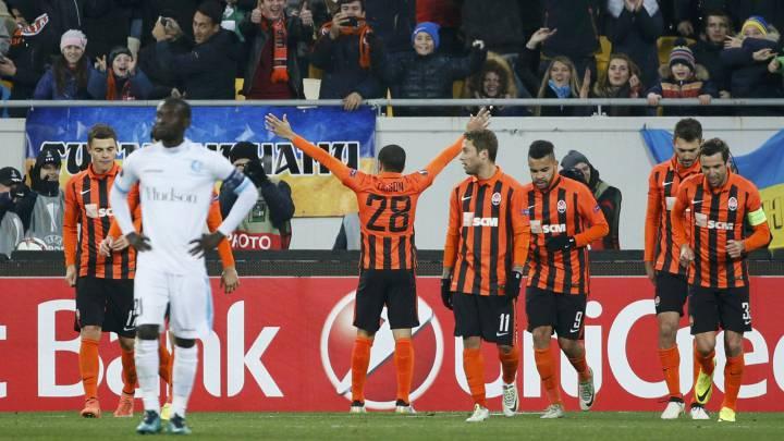 Shakhtar, Zenit y Schalke siguen intratables con pleno de triunfos