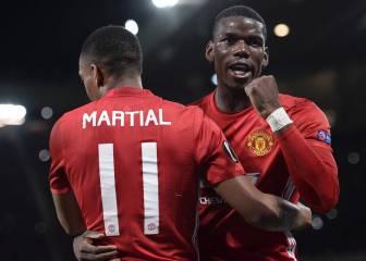 Pogba lidera el triunfo del United