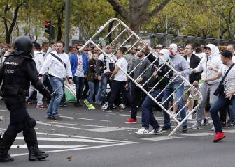 Los ultras polacos acusan a la policía de todos los disturbios