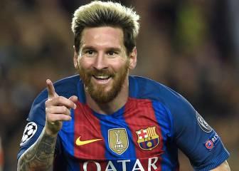 Messi, mejor que Mahrez y Aubameyang en la Champions