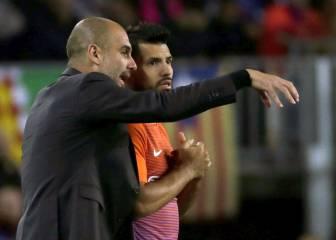Agüero puede ser el siguiente en sufrir la 'revolución Guardiola'