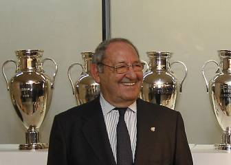 Paco Gento: el domingo será Presidente de Honor