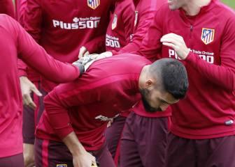 El Atlético volvió al trabajo sin Oblak pero con Moyá