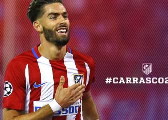 Oficial: Carrasco renueva hasta 2022, su cláusula sube a 100M€