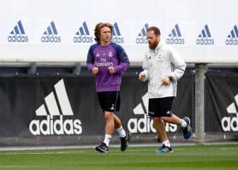 Modric ya corre: el objetivo es que esté listo para el derbi