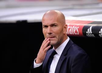 Los cuatro cambios que medita Zidane contra el Athletic