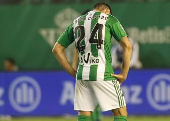 Rubén Castro, suplente tras 94 partidos seguidos de titular