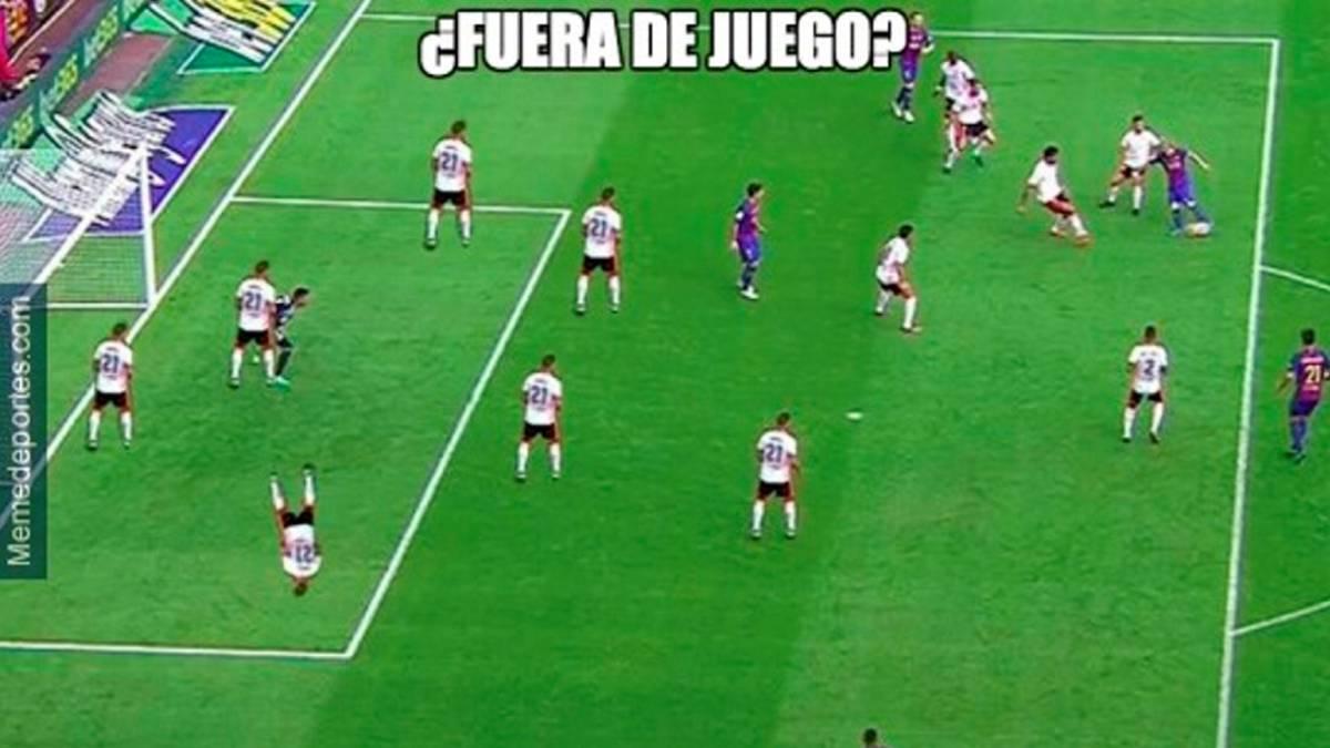 Los mejores memes del Valencia-Barcelona