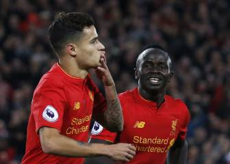 El Liverpool gana al West Brom y sigue colíder junto al Arsenal